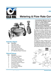 133-11/633-11 Metering and Flow Rate Control Valve Datasheet