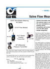 133VF Valve Flow Measurement Datasheet