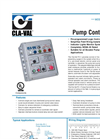 PC-1 Pump Control Panel Datasheet