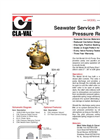 50-49 Pump Start Pressure Relief Valve Datasheet