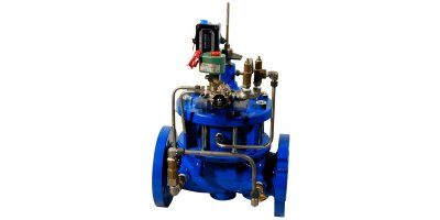 Model 60-08/660-08 - Booster Pump Control Valve w/ High Capacity Pilot System