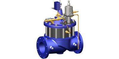 Model 61-02KO/661-02KO - Deep Well Pump Control Valve with KO Anti-Cavitation Controls