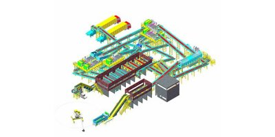 Disan - Fully Automatic MSW Sorting Plant