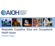 AIOH Position Paper Diesel Particulate Matter and Occupational Health