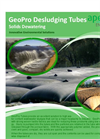 GeoPro - Desludging Tubes and Bags - Brochure