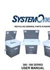 300 / 500 Series - Recycling General Parts Washers Manual