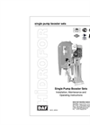 MAS GRUP - Model DS1, DB1, DM1, DMA1, DMB1 Series - Single Pump Unit Boosters - Brochure