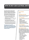 NFPA 70E: Arc Flash Electrical Safety Training Brochure