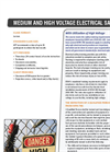 NFPA 70E: Arc Flash Electrical Safety & Utilization of High Voltage Training Brochure