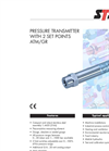 Pressure Transmitter With 2 Set Points ATM/GR Brochure