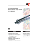 Programmable Pressure Transmitter For Level Measurement PTM (2-wire) Brochure