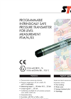Pressure Transmitter For Level Measurement PTM/N/EX Brochure
