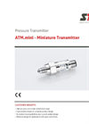 STS - Model ATM.mini - Miniature Transmitter - Datasheet
