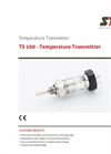 STS - Model TS 100 - Temperature Transmitter - Datasheet