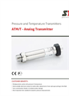 STS - Model ATM/T - Analog Transmitter - Datasheet