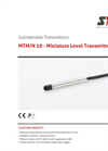 STS - Model MTM/N 10 - Miniature Level Transmitter - Datasheet