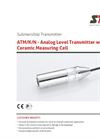 STS - Model ATM/K/N - Analog Level Transmitter with Ceramic Measuring Cell - Datasheet
