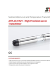 STS - Model ATM.1ST/N/T - High Precision Level Transmitte - Datasheet