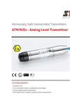 STS - Model ATM/N/Ex - Analog Level Transmitter - Datasheet