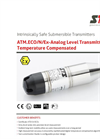 STS - Model ATM.ECO/N/Ex - Analog Level Transmitter Temperature Compensated - Datasheet