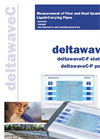 deltawaveC-F - Measurement of Flow and Heat Quantity in Liquid-Carrying Pipes - Datasheet