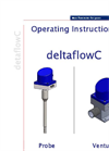 DeltaflowC - Mass Flow Meter for Gases - Operating Instructions Manual