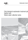 Sewage Treatment Plants Technical Data