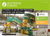 Macpresse - Efficiency of Balers for Processing Secondary Raw Materials - Brochure