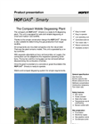 HOFGAS - Model Smarty - Compact Mobile Degassing Plant with Semi-Enclosed Combustion Brochure