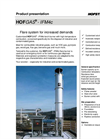 HOFGAS - Model IFM4c - Customised Industrial Gas Flare System Brochure