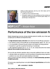 Performance of the Low-Emission Flare Brochure