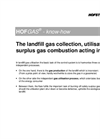 The Landfill Gas Collection, Utilisation and Surplus Gas Combustion Acting In Unison - Knowledge Base Brochure