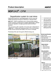 HOFGAS - Model CPM - Degasification System for Coal Mines Brochure