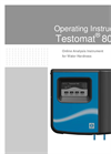 Testomat - Model 808 - Monitoring Device Brochure