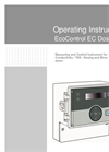 EcoControl - Model EC Dos Desalt - Conductivity Measuring Instrument Brochure