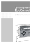 EcoControl - Model pH - Process Measuring Instrument Brochure