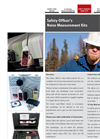 Safety Officer`s Noise Measurement Kits - Brochure