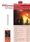 Optimus - Model Red - Sound Level Meters for Noise At Work & Occupational Noise Measurements - Brochure