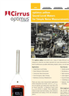 Optimus - Model Yellow - Sound Level Meters - Brochure