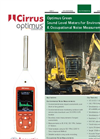 Optimus - Green Sound Level Meters - Brochure