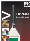 Cirrus - Model CR:260A Series - Sound Level Meters - Brochure