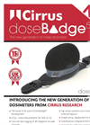 Cirrus - Model doseBadge5 - High Performance Wireless Noise Dosimeter - Brochure