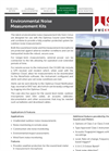 Cirrus - Models CK:675 and CK:685 - Environmental Noise Measurement Kit - Technical Datasheet