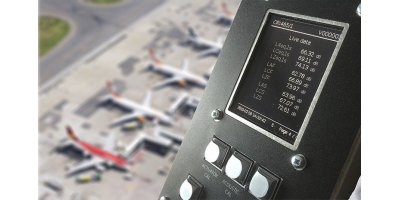 Cirrus - Model CR:465 - Galactus Integration Noise Monitor for Airport & Environmental Noise Monitoring Systems