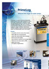 PrimeLog+ - Robust and Submersible Battery Powered Data Logger Brochure