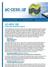 Model AC-ROV 100 - Underwater Inspection Systems. Brochure
