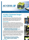 AC-ROV - Thickness Gauge / Laser Scaling Underwater Inspection System Brochure