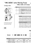 HMS DIGITAL Series Metering Pumps Datasheet
