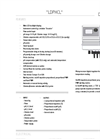 LDPHCL Series Instruments pH / Cl Datasheet