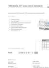 DIN Digital CD Series Control Instruments Datasheet